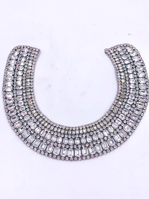 Weiss X Large Royal Crystal Choker