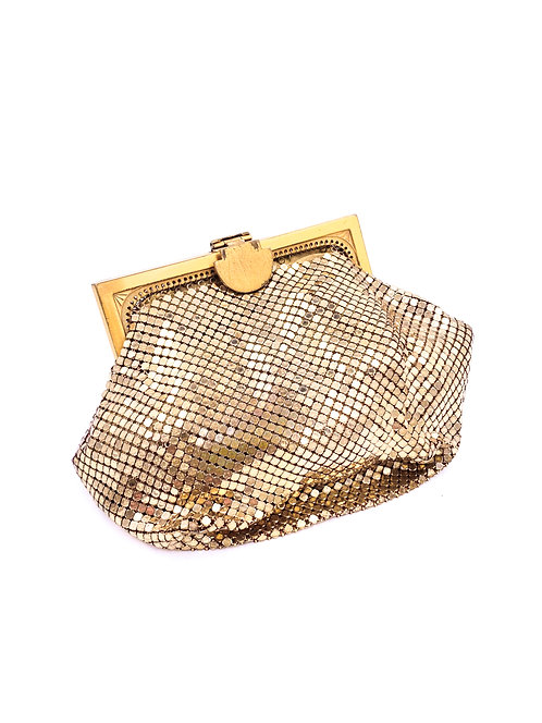 Whiting and Davis Chainmail Change Purse