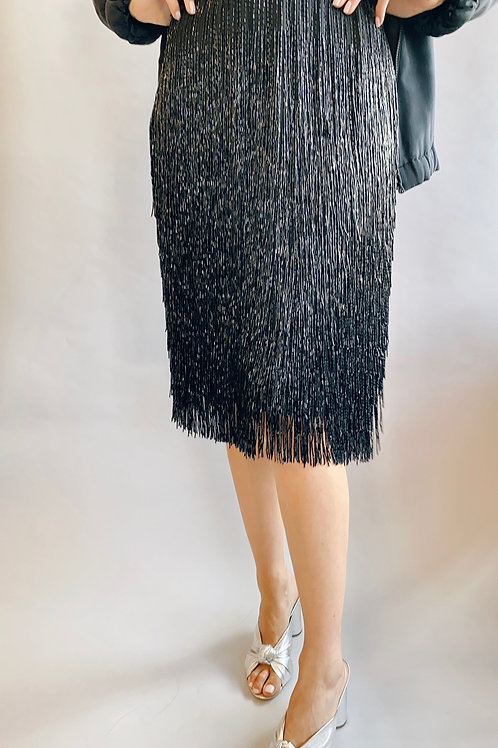 Victoria Royal Beaded Fringe Skirt