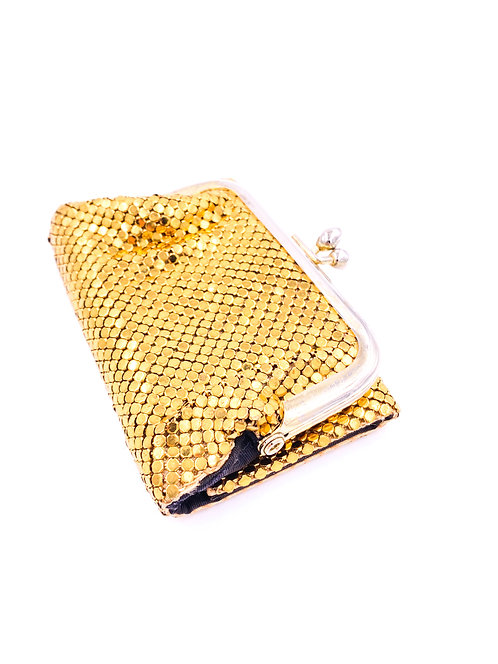 Gold Chainmail Wallet