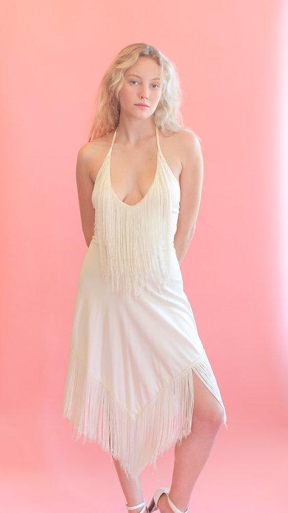 70's Style Fringe Dress