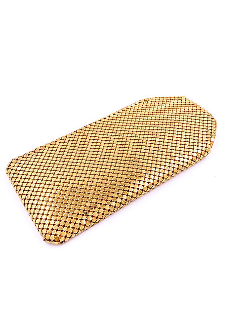 Gold Chainmail Glasses Case