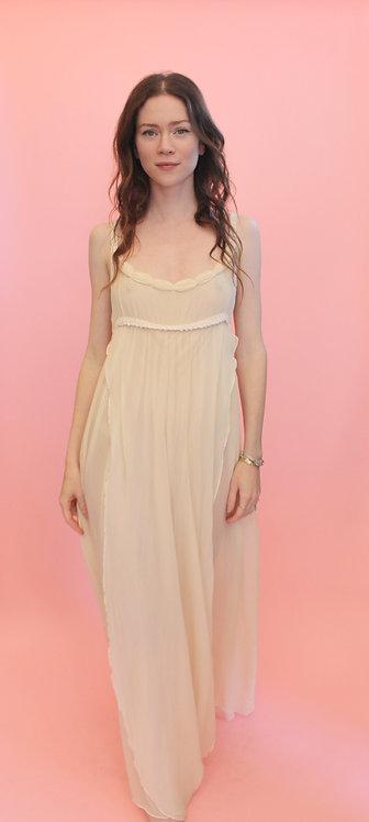 Jane Booke Grecian Chiffon Gown