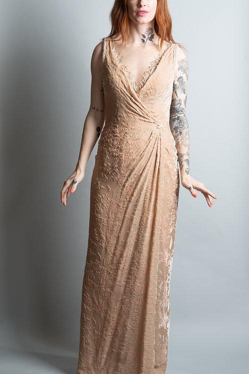 Bob Mackie Burnt Velvet Gown