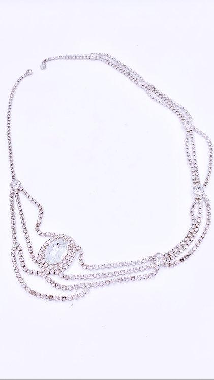 Large Crystal Necklace/Belt