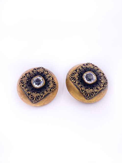 Joseff of Hollywood Clip-On Earrings