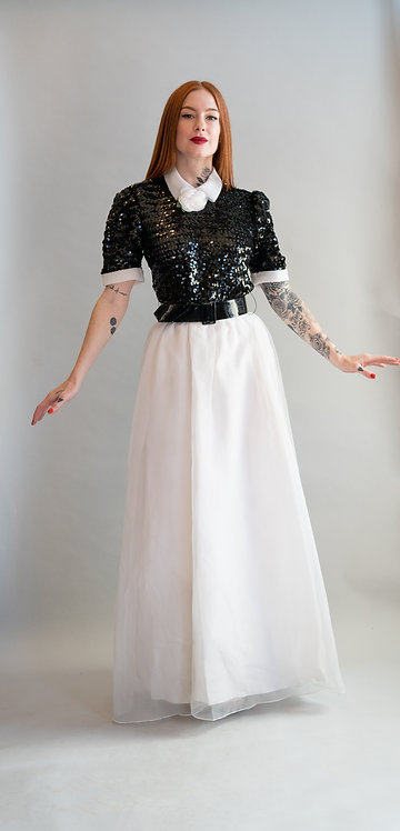 50's Harry Action for After Five Sequin Gown from Lord + Taylor