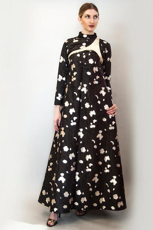 80's Geoffrey Beene Harness Gown