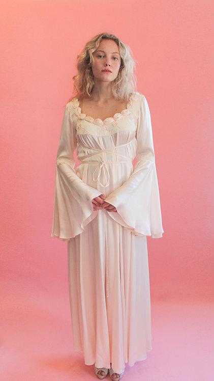 Jane Booke Pale Pink Rosebud Gown