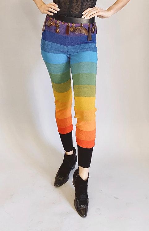 Rifat Ozbek Rainbow Leggings/Pants