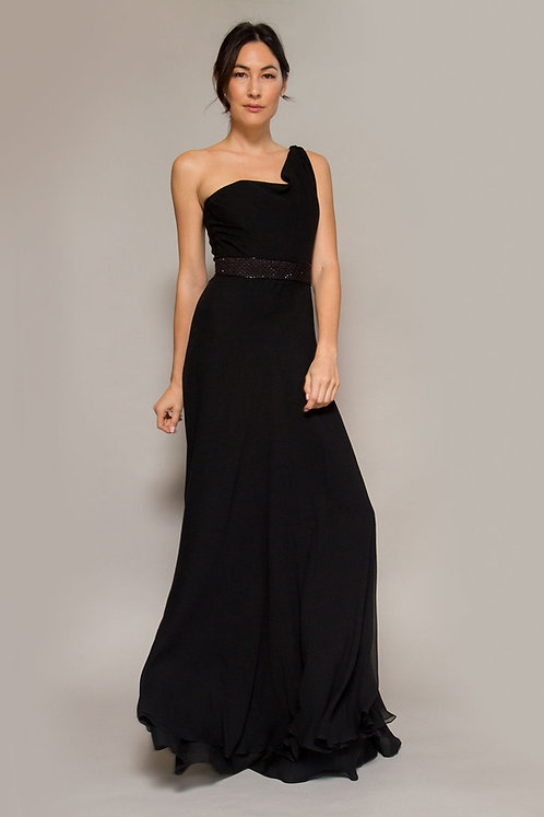 Donald Deal One Shoulder Gown