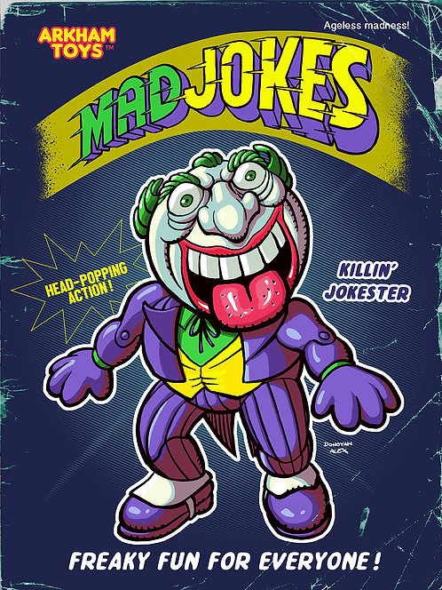 Mad Jokes - Print