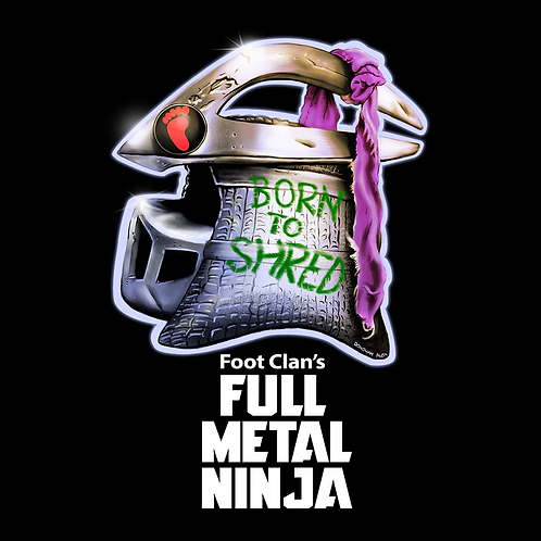 Full Metal Ninja - T-Shirt