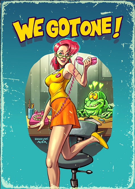 We got one! - Poster Print