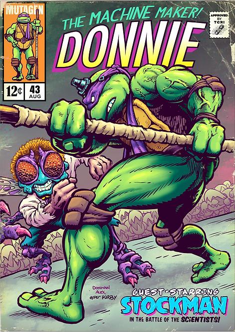 Donnie's Comics - Print
