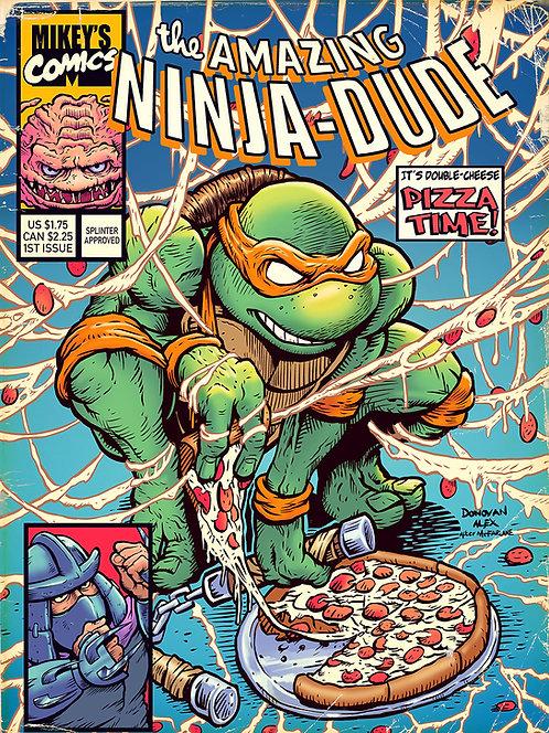 Amazing Ninja Dude - Print