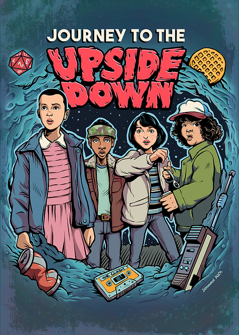 Journey To The Upside Down - Print
