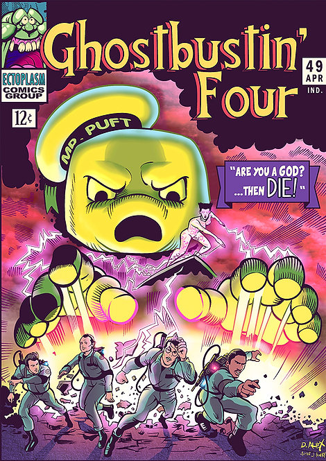 Ghostbustin' Four - Print