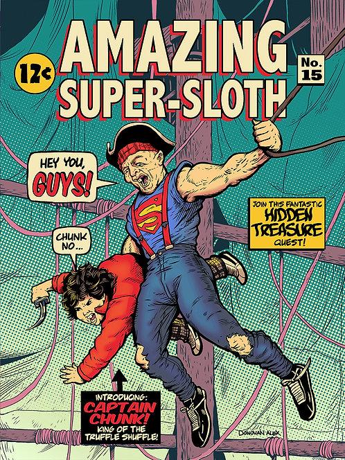 Amazing Super-Sloth - Print