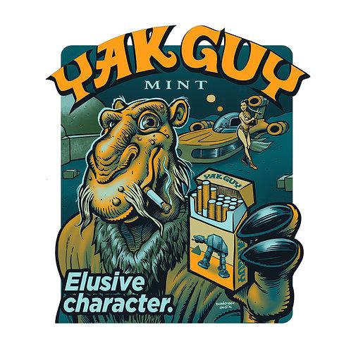Yak Guy Mint - T-Shirt
