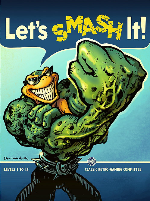 Rash Can Smash - Print
