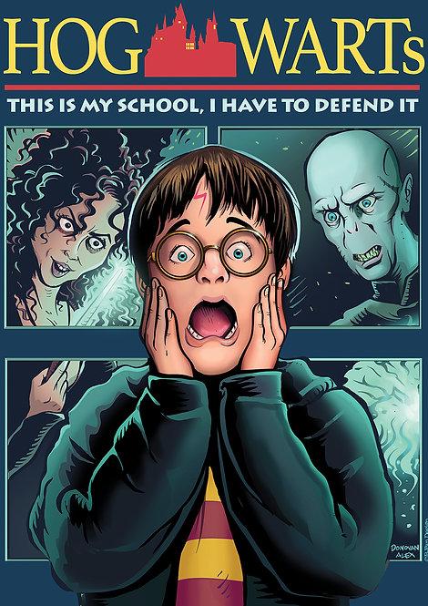 Harry Alone - Print