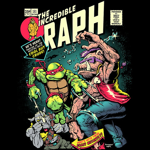 Incredible Raph - T-Shirt