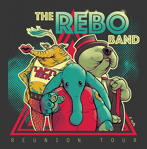 Rebo Reunion- T-Shirt