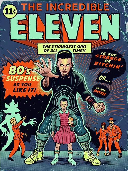 Incredible Eleven - Print