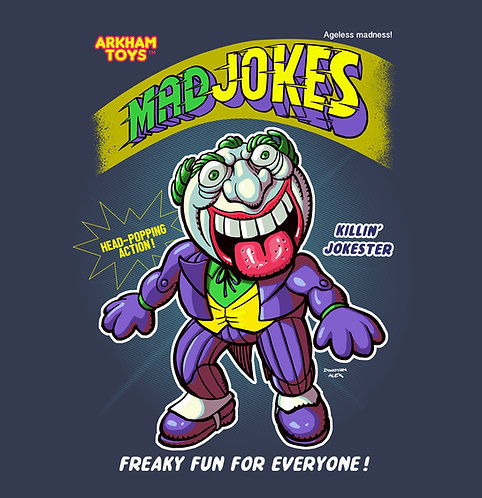 Mad Jokes - T-Shirt