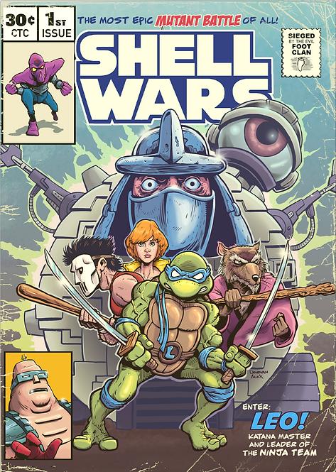 Shell Wars - Print