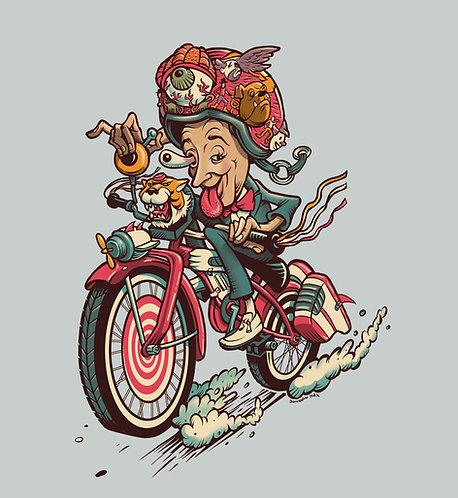 Big Fink Adventure - T-Shirt