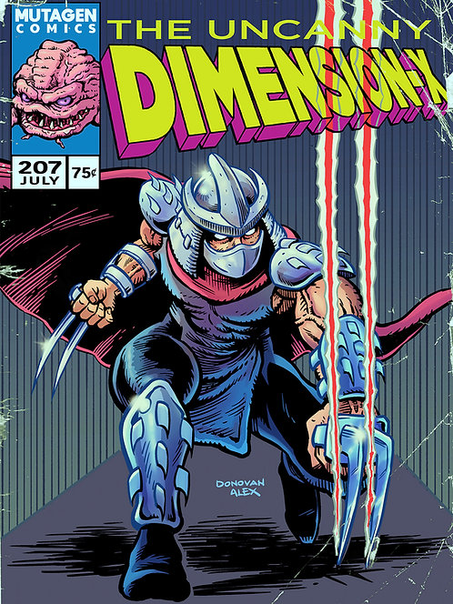 The Uncanny Dimension X - Print