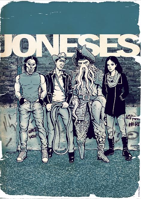 The Joneses - Print