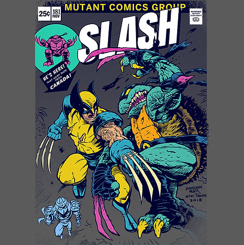 Wolvie vs Slash - T-Shirt