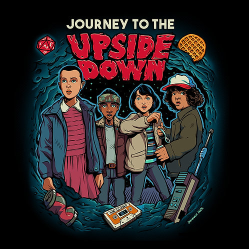 Journey To The Upside Down - T-Shirt