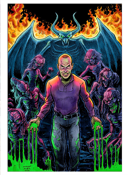 Demon's Collector - Print
