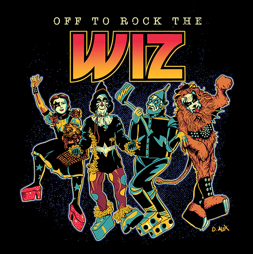 Off To Rock The Wiz - T-Shirt