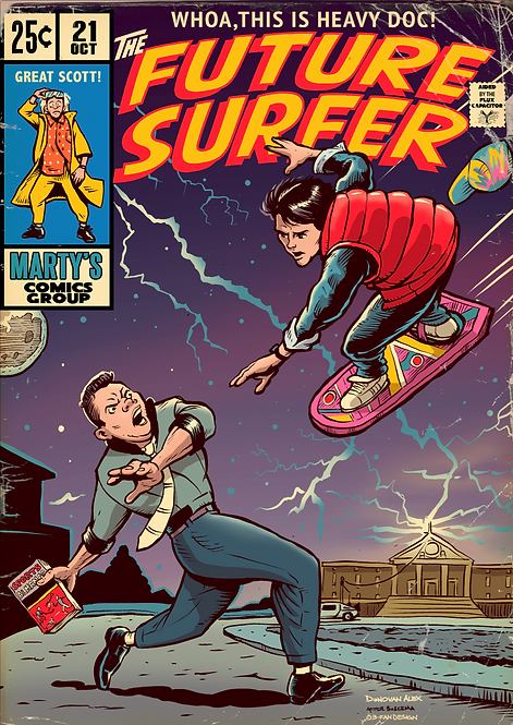 Future Surfer - Print