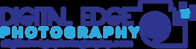 Digital Edge Photography Logo With websi