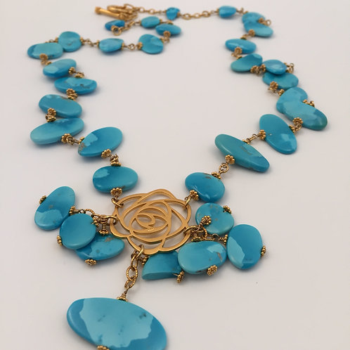 Magnificent Sleeping Beauty Necklace