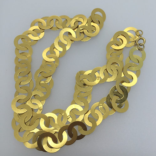 Gold - 18K Link Chain Necklace
