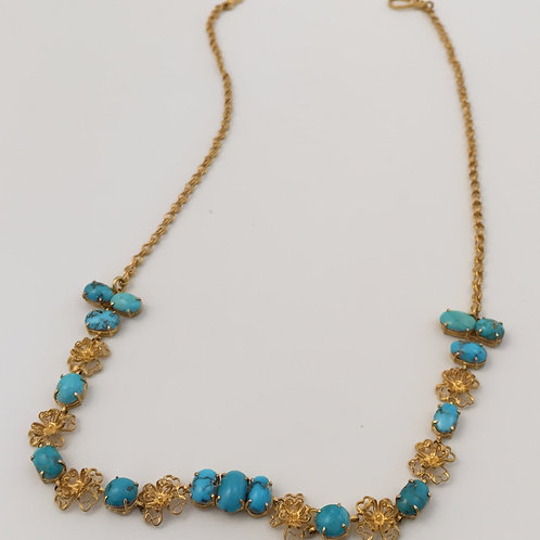 Handmade 18K Gold Necklace