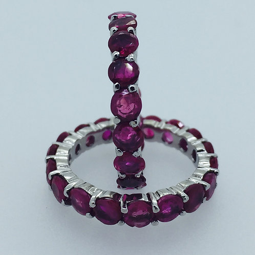 Stakable Ruby Ring