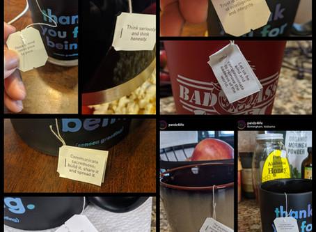 Tea Message Moments