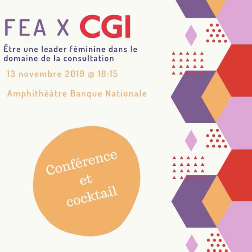 Panel FEA x CGI