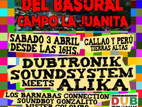 """Cierre del basural Campo La Juanita - Sesión al aire libre - Dubtronik Sound System meets """"ALIKA"""""""