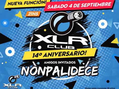 Selector Conciencia musicalizando para el 14 aniversario de XLR CLUB. Warm up de NONPALIDECE.