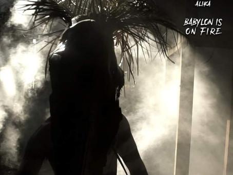 """""""Babylon is on fire"""" nuevo single y video clip de M.MASSIVO feat ALIKA. Estreno mundial 23 de julio."""