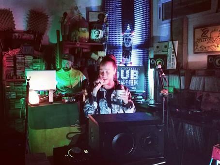 ALIKA en Dubtronik Studio. Broadcast live 2021.